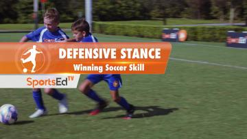 DEFENSIVE STANCE - Winning Soccer Skill • Ages 10-13