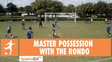 MASTER POSSESSION WITH THE RONDO • Ages 10+