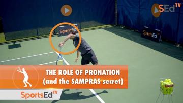The Role Of Pronation On The Serve (And The Sampras Secret)