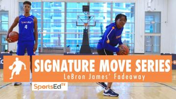 Signature Move Series: LeBron James' Fadeaway