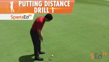 Putting Drills: Distance Drill 1