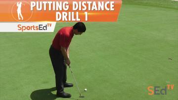 Putting Drills: Distance Drill 1