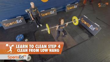 Learn To Clean - Step 4 - Low Hang (No Blocks)