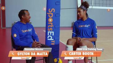 World Jr. Champion 2019 Carter Booth talks to SportsEdTV Gylton Da Matta