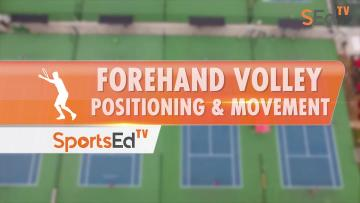 Forehand Volley - Positioning & Movement With Ellis Ferreira