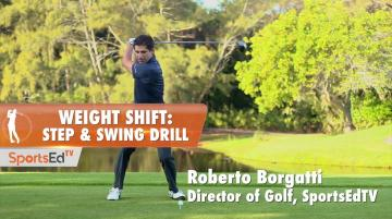 Weight Shift: Step 'n Swing Drill