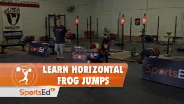 Learn Horizontal Frog Jumps