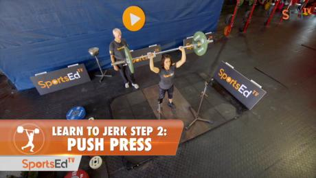 Learn To Jerk - Step 2 - Push Press (Woman)
