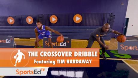 Crossover Dribble With Tim Hardaway