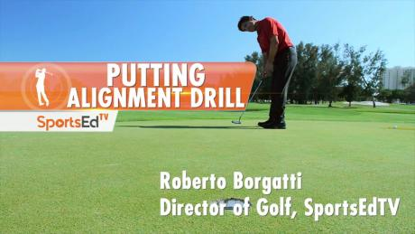 Putting Alignment Drill