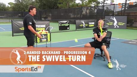 2-Handed Backhand Progression 4 - The Swivel Turn