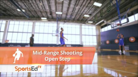 Mid-Range Shooting with Open Step - Male