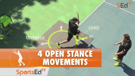 4 Open Stance Movements
