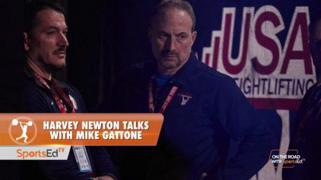 Harvey Newton talks with Mike Gattone, Senior Director of Sport Performance and Coaching Education, USA Weightlifting