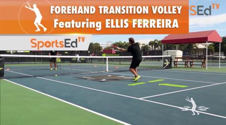 Forehand Transition Volley With Ellis Ferreira