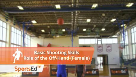 Basic Shooting Skills - Role Of The Off-Hand (Female)