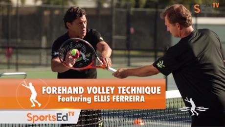 Forehand Volley Technique