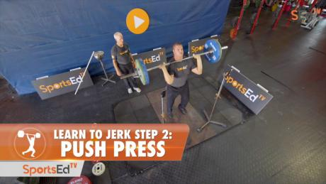Learn To Jerk - Step 2 - Push Press