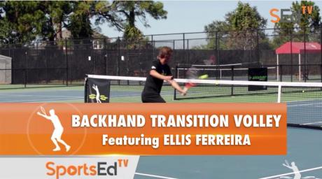 Backhand Transition Volley With Ellis Ferreira