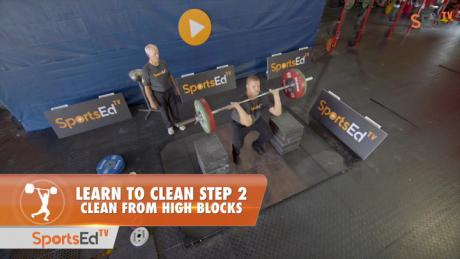 Learn To Clean - Step 2 - Clean from High Blocks