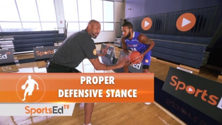 Proper Defensive Stance