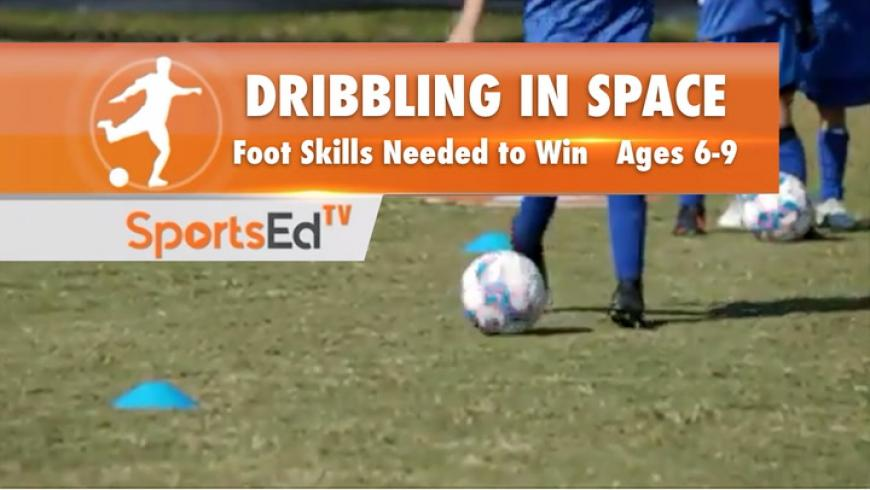 DRIBBLING IN SPACE - Footskills You Need To Win