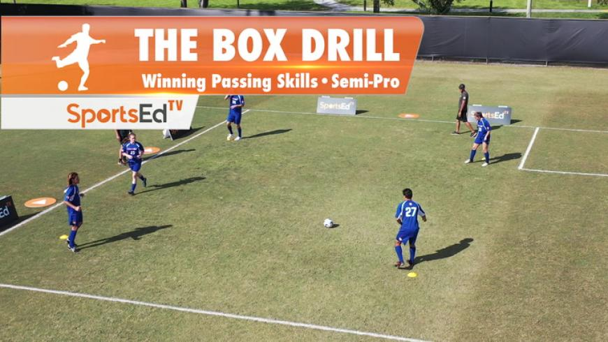 THE BOX DRILL - Winning Passing Skills • Semi-Pro