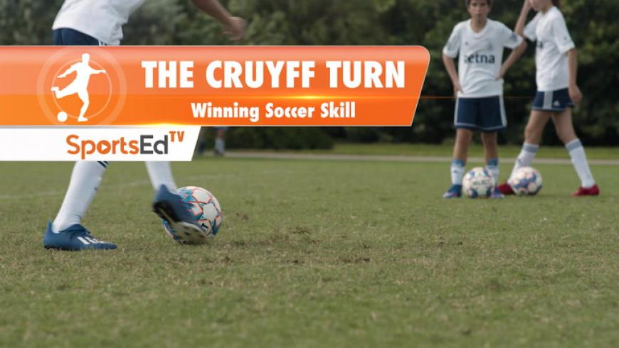 THE CRUYFF TURN - Winning Soccer Skill • Ages 10+