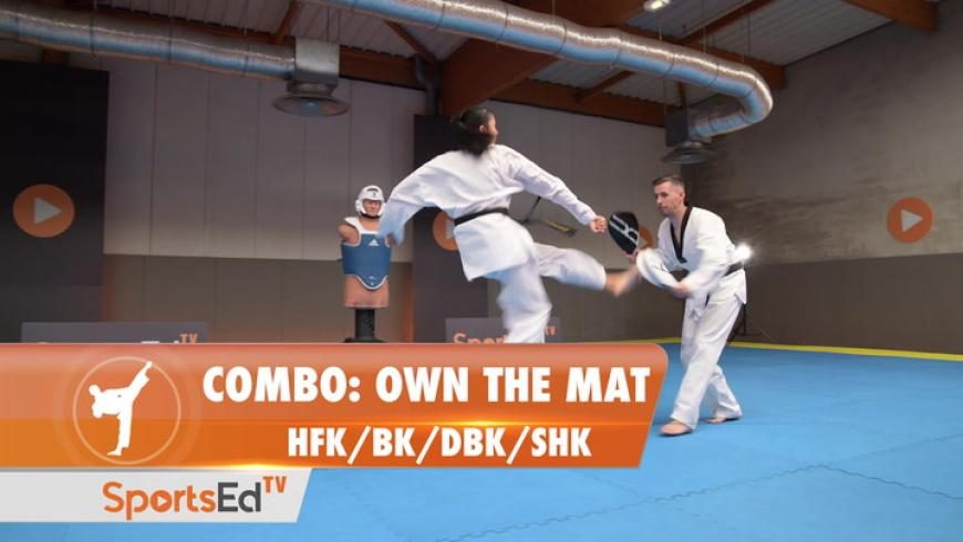 COMBO - Own The Mat (HFK/BK/DBK/SHK)