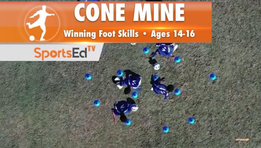 CONE MINE - Winning Foot Skills 1 •Ages 14-16