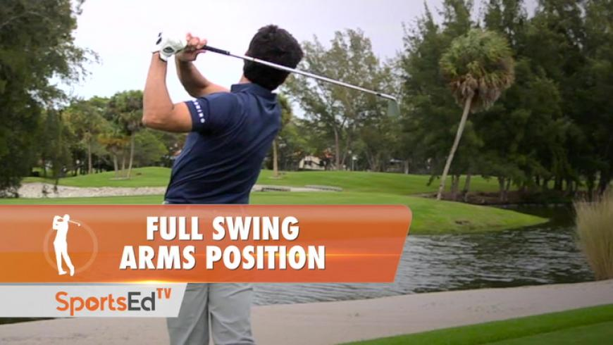 Full Swing Arms Position