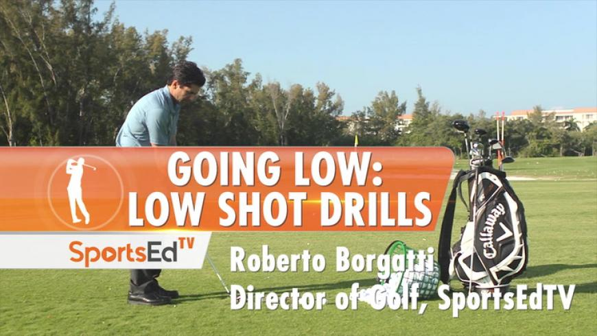 "Getting Out of Trouble by ""Going Low"": Low Shot Drills"
