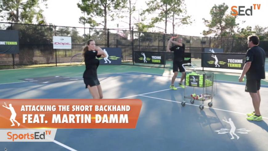 Attacking the Short Backhand / Feat. Martin Damm