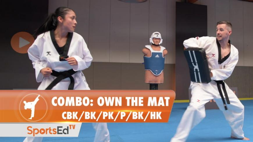 COMBO - Own The Mat (CBK/BK/PK/P/BK/HK)