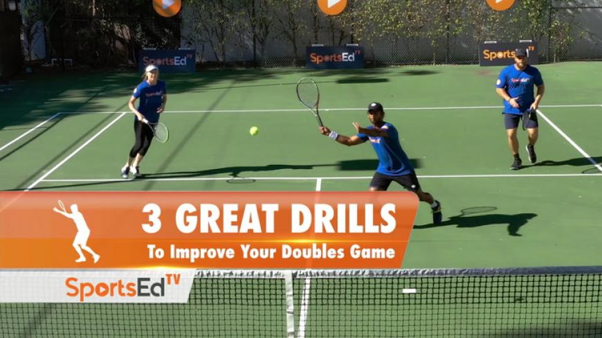 DOUBLES DRILLS TO MASTER THE DOUBLES GAME