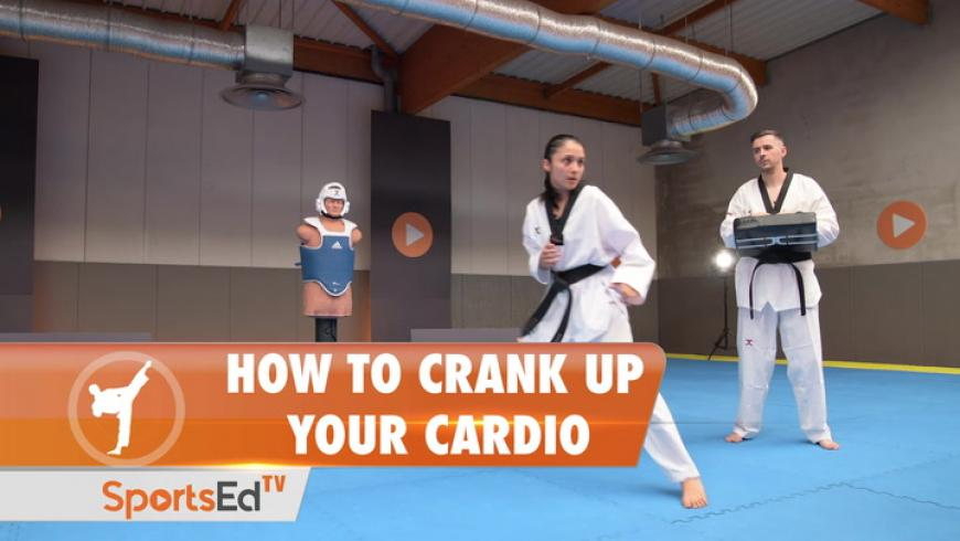 HOW TO CRANK UP YOUR CARDIO