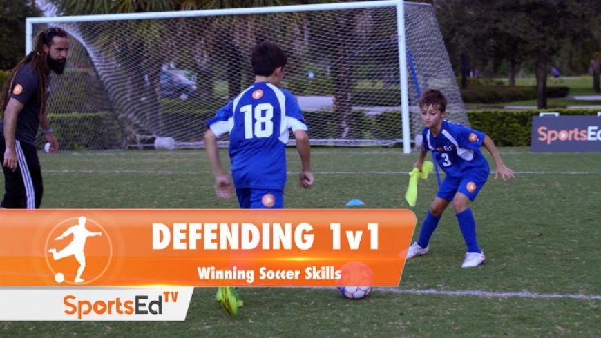 DEFENDING 1v1 - Winning Soccer Skills • Ages 10-13
