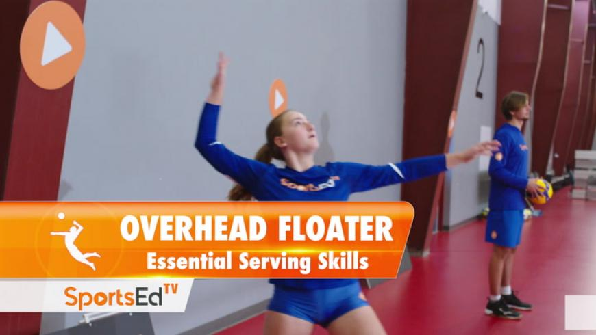 THE OVERHEAD FLOATER SERVE