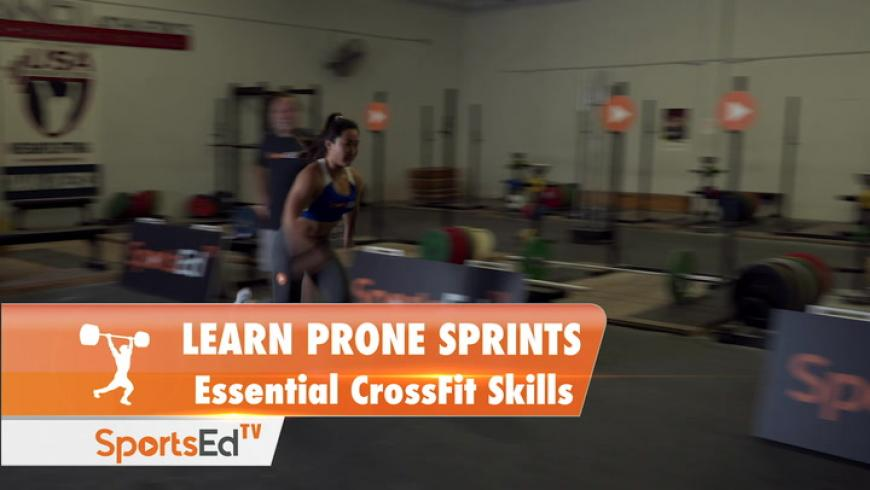 Learn Prone Sprints - Essential Weight Training Skill
