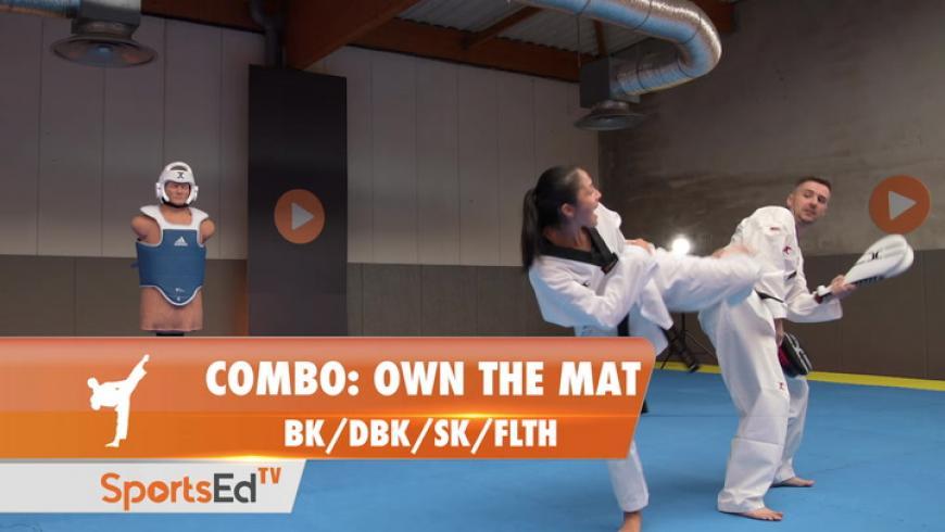 COMBO - Own The Mat (BK/DBK/SK/FLTH)