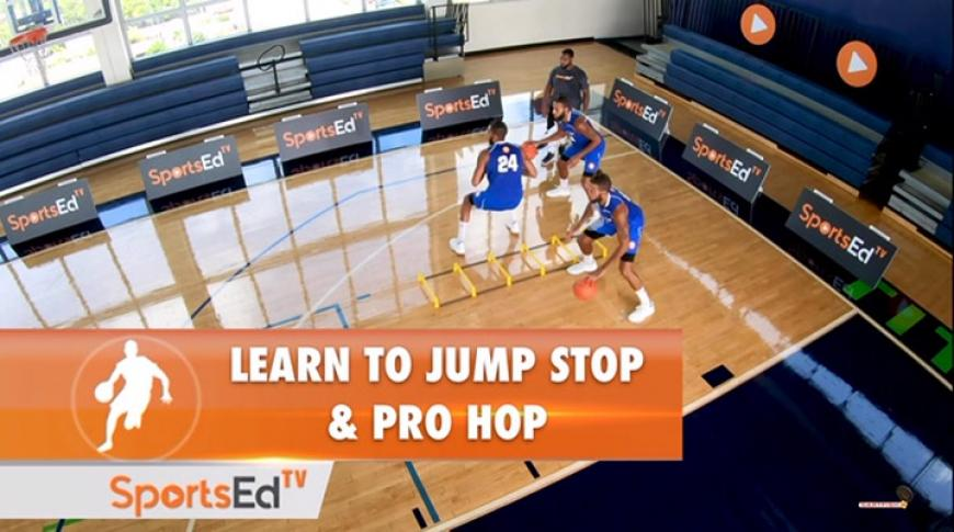 Learn to Jump Stop And Pro Hop