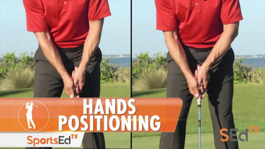 Putting: Arms & Hands Position