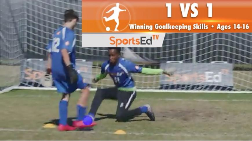 1 VS 1 - Winning Goalkeeping Skills 1 • Ages 14-16